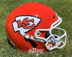 Kansas City Chiefs Patrick Mahomes Authentique Taille Pleine Vicis Casque De Football Américain