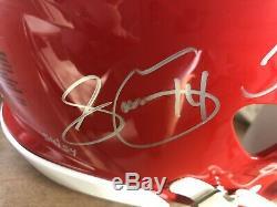 Kansas City Chiefs Signés Limited Edition Authentique Sb LIV Riddell Casque Vitesse