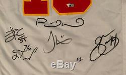 Kansas City Chiefs Signés Super Bowl 54 Patrick Mahomes Jersey Le 39/54 Fanatics