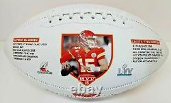 Kansas City Chiefs Super Bowl 54 LIV Limited Edition Nikco Pat Football Mahomes