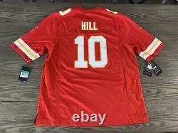 Kansas City Chiefs Super Bowl LIV Patch Nike Jersey Tyreek Hill Rare T.n.-o.