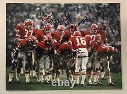 Kansas City Chiefs Team Signed Super Bowl IV Photo Len Dawson L@@k