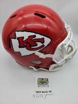 Kansas City Chiefs Unsigned Speed Replica Casque Super Bowl 54 Champs Decal