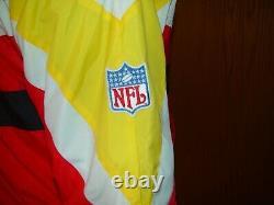 Kansas City Chiefs Vintage Apex One NFL Pro Line Veste XL Coat Mahomes Rare