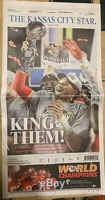 Kansas City Star Journal 2-3-20 Super Bowl Chiefs