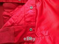 Ligne De Craie Vintage Kansas City Chiefs Jacket Taille Grande Excellente
