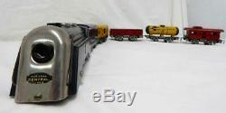 Marx 1930 Joy Line Fret Set Chiefs De Kansas City Rouge Jaune Super Bowl Train