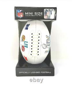 NFL American Football Mini Super Bowl LIV Miami 2020 Sf 49ers Kansas City Chiefs