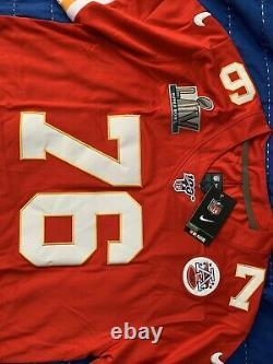 NFL Duvernay-tardif Kansas City Chiefs Super Bowl Jersey Tn-o Large
