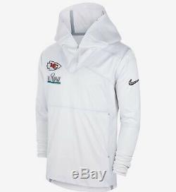 Nike Hommes Taille M Super Bowl LIV Sideline Kansas City Chiefs Jacket Avant-match NFL