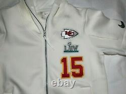 Nike Kansas City Chiefs Mahomes Showout Super Bowl LIV Hoodie Hommes L Dc9253-100