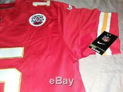 Nike Kansas City Chiefs Patrick Mahomes Super Bowl 54 LIV Patch Jersey Rouge