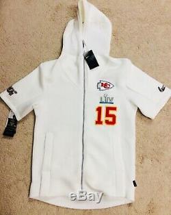 Nike Kansas City Chiefs Patrick Mahomes Superbowl LIV Nuit Des Médias Showout Hoodie