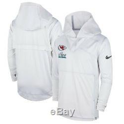 Nike Kansas City Chiefs Super Bowl 54 LIV Pull Nuit Des Médias Bound Jacket XL