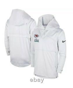 Nike Kansas City Chiefs Super Bowl LIV 54 Media Night Pullover Jacket Hommes 4xl