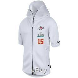 Nike Patrick Mahomes Kansas City Chiefs Mens Super Bowl LIV Médias Showout Hoodie