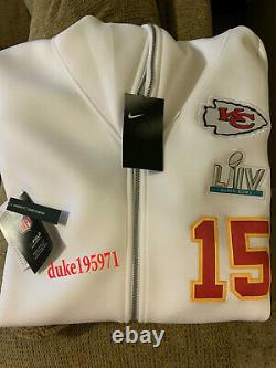 Nike Patrick Mahomes Kansas City Chiefs Super Bowl LIV Media Showout Hoodie-lg