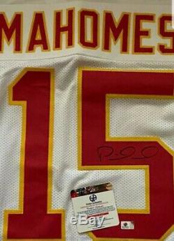 Nouveau Mvp Patrick Mahomes Signé Kc Chiefs Jersey Withga Coa Super Bowl 1 Vente Jour