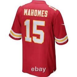 Nouveau Nike Patrick Mahomes Kansas City Chiefs Super Bowl LIV Champions Game Jersey