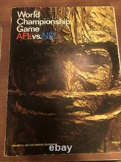 Packers Des Chiefs Du Programme Du Super Bowl 1967