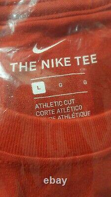 Paquet! Nike Patrick Chiefs Mahomes Hommes Sb LIV Jeu Jrsy Sz L & Nike T-shirt