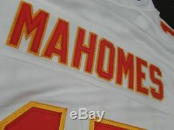 Patrick Mahomes # 15 Chiefs De Kansas City Super Bowl LIV 54 Limited Jersey Blanc