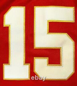 Patrick Mahomes #15 Kansas City Chiefs Red Super Bowl 54 Jersey Small
