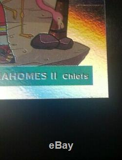 Patrick Mahomes 2020 Centre-ville Panini Donruss Chefs Superbowl Lire La Liste