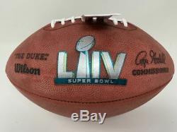 Patrick Mahomes Chiefs Autographiés Officiel Super Bowl LIV Football Fanatics