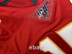 Patrick Mahomes Chiefs NFL 100ème Saison Super Bowl Authentique Limited Jersey L, XL