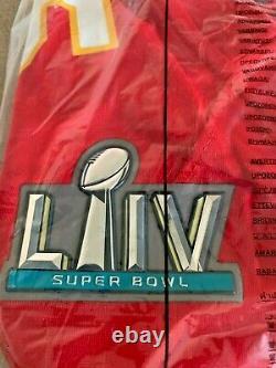 Patrick Mahomes Kansas City Chiefs Nike Super Bowl LIV Bound Game Edition Jersey