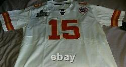 Patrick Mahomes Kansas City Chiefs Nike Super Bowl LIV Jersey Game Edition
