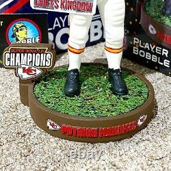 Patrick Mahomes Kansas City Chiefs Super Bowl LIV Confetti Base NFL Bobblehead