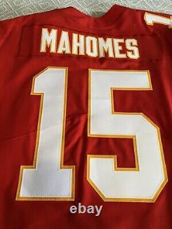 Patrick Mahomes Kansas City Chiefs Super Bowl LIV Nike Élite Jersey Taille 56