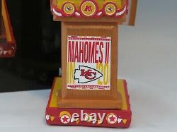 Patrick Mahomes Kansas City Chiefs Swing Vote Série Bobblehead