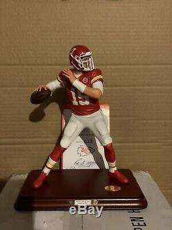 Patrick Mahomes Mint 9 Danbury Kansas City Chiefs Super Bowl Mvp Figurine Nib