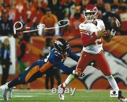 Patrick Mahomes Signé À La Main 8 X 10 Photo Superbowl Kansas City Chiefs Coa NFL