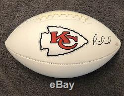 Patrick Mahomes Signé Autographié Kansas City Chiefs Super Bowl De Football Coa