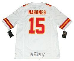 Patrick Mahomes Signé Kansas City Chiefs Blanc Nike Super Bowl LIV Jersey Jsa