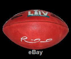 Patrick Mahomes Signé Kansas City Chiefs Officiel Super Bowl LIV Football Jsa