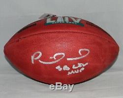Patrick Mahomes Signe Kansas City Chiefs Super Bowl LIV Football Avec Sb LIV Mvp