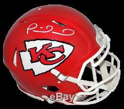 Patrick Mahomes Signé Kansas City Chiefs Super Bowl LIV Speed casque Authentique