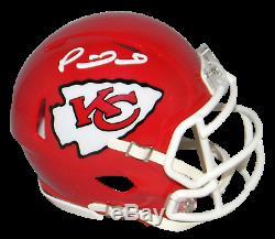 Patrick Mahomes Signé Kansas City Chiefs Super Bowl LIV Speed mini Casque Jsa