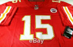 Patrick Mahomes / Super Bowl Mvp / Autographiés Chiefs Pro Style Jersey / Coa