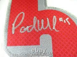 Patrick Mahomes / Super Bowl Mvp / Chefs Autographiés Jersey De Style Pro / Coa