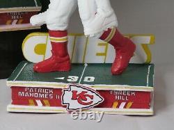 Patrick Mahomes & Tyreek Hill Kansas City Chiefs Piggyback Bobblehead