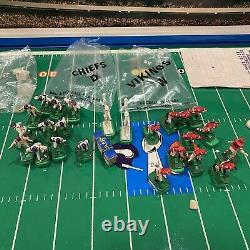 Rare 1970 Tudor NFL Super Bowl Electric Football Chiefs Vs Vikings #663