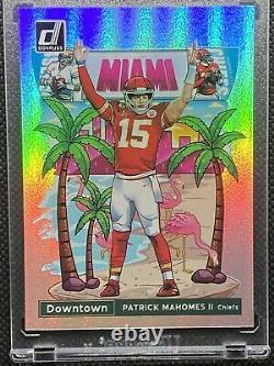 Rare Cas Frappé! Patrick Mahomes 2020 Downtown Miami Chiefs Superbowl