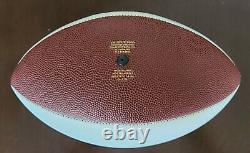 Rare Christian Okoye Signé Auto Chiefs Super Bowl LIV Football Jsa Témoins