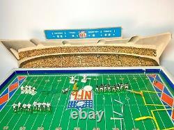 Rare NFL Superbowl Electric Football Game Chiefs / Vikings Modèle 620 Jouet Électrique